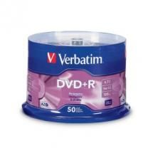 Verbatim DVD+R 4.7GB 50Pk Spindle 16x