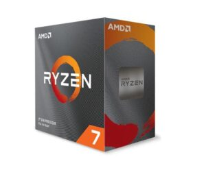 AMD Ryzen 7 3800XT, 8-Core/16 Threads, Max Freq 4.7GHz, 36MB Cache Socket AM4 105W, No Cooler (AMDCPU)