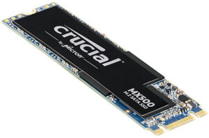 Crucial MX500 1TB M.2 (2280) SSD - 3D TLC 560/510 MB/s 90/95K IOPS Acronis True Image Cloning Software 5yr wty