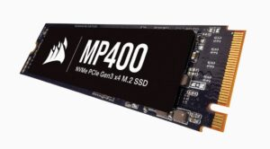 Corsair Force MP400 8TB NVMe PCIe M.2 SSD - 3480/3000 MB/s 710K/610K IOPS 1600TBW 1.8mil Hrs MTBF AES 256-bit Encryption 5yrs