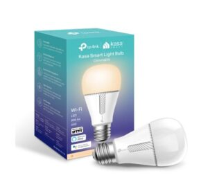TP-Link KL110 Kasa Smart Light Bulb, Edison Screw, Dimmable, No Hub Required, Voice Control, 2700K, 800lm, 10W, 2.4 GHz, 2 Year Warranty