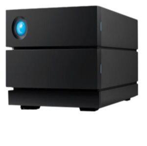 Seagate LaCie 4TB 2BIG Raid STGB28000400  - Hard drive array - 2 bays- 2 x 2 TB HDD Enterprise - USB 3.1 Gen 2 Data Recovery Service (external)