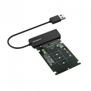 Simplecom SA225 USB 3.0 to mSATA + M.2 (NGFF B Key) 2 In 1 Combo Adapter