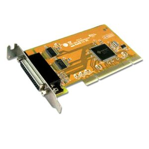 Sunix MIO5079AL 2-port RS-232 & 1-port Parallel Universal PCI Low Profile Multi-I/O Board; peed up to 115.2Kbps; Support Microsoft Windows, Linux (LS)