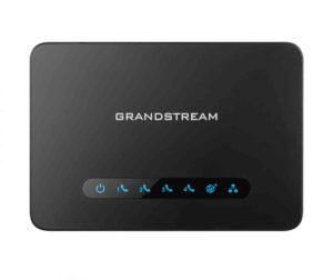 Grandstream HT814 FXS ATA, 4 Port Voip Gateway, Dual GbE Network
