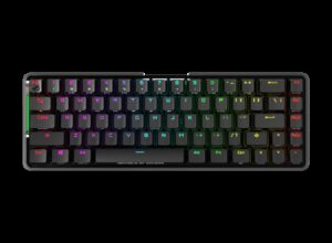 ASUS M601 ROG FALCHION/RD Wireless Mechanical Gaming Keyboard, 68 Keys 65% Layout, 450 Hours
