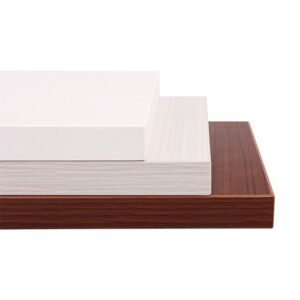 Brateck Particle Board Desk Board 1800X750MM Compatible with Sit-Stand Desk Frame - White