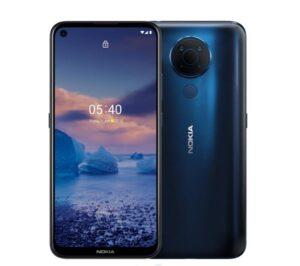 Nokia 5.4 128GB Blue - Display 6.39'' HD+, Qualcomm® Snapdragon™ 662 CPU, 4GB RAM, 128GB ROM, Dual SIM, 4000 mAh non-removable Battery