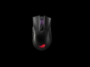 ASUS ROG Gladius II Wireless P702  Gaming Mouse Aura Sync RGB lighting, Dual Wireless, Right Handed Ergonomic Design, ROG Socket
