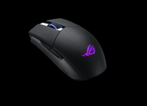 ASUS ROG STRIX IMPACT II Wireless 2.4GHz, 16000dpi, Lightweight, Ambidextrous, 89 Hours, Exclusive Push-Fit For Extended Life Span, Aura Sync RGB