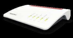 Fritz!Box 7590 Dual-Band 4x4 Wireless AC ADSL2+/VDSL2 Modem Router W/ ISDN, 5.0GHz 1300Mb/s & 2.4Ghz 450Mb/s, 1x Gigabit WAN, 4x RJ45 Gigabit LAN,