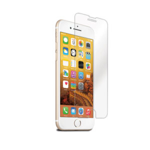 Cleanskin Tempered Glass Screen Protector - For Apple iPhone SE, 7, 8 - Clear, Provides Massive Shock Resistance to Shield, Smudge-resistant Coating,