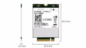Huawei 4G LTE Int Modem MU906E 4G LTE for LeaderTab W150,W170