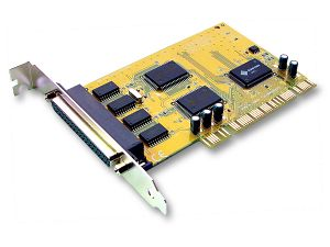 Sunix 4 Port Serial PCI Card SER5056A , 4 ports DB9M/25M,  Speeds up to 115.2Kbps, Support Microsoft Windows, Linux, and DOS (LS)