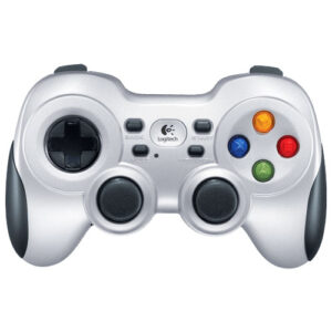 Logitech F710 Nano USB Dual Vibration Feedback MotorsPC Gamepad 2.4GHz Wireless D-pad Work with Android TV Extensive game support(LS)