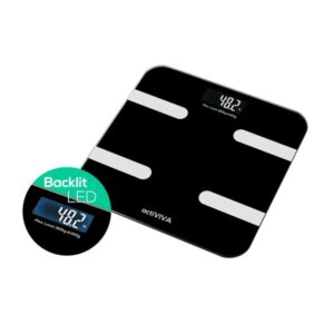 mbeat® 'actiVIVA' Bluetooth BMI and Body Fat Smart Scale with Smartphone APP