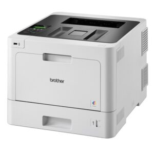 Brother HL-L8260CDW Colour Laser Printer with automatic 2-sided printing and wireless connectivity, 31 ppm, Gigabit, Wifi Direct, Wireless