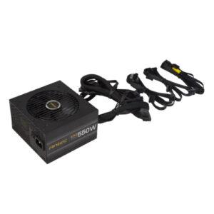 Antec EA550G PRO 550w 80+ Gold PSU Semi-Modular, 1x EPS 8PIN, 120mm Silence Fan, Japanese Caps, ATX Power Supply, PSU, 7 Years Warranty