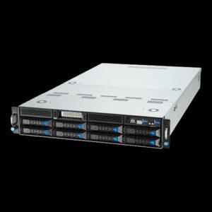 Asus ESC4000A-E10,  2U Barebones Rackmount Server, AMD LGA4094 Socket, 1600w RPSU, Support 4 x GPU, 8 x 3.5' HDD, 3 Year Warranty