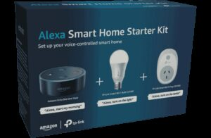 AMAZON ALEXA SMART HOME STARTER KIT - SMART LIGHT BULB + SMART POWER PLUG