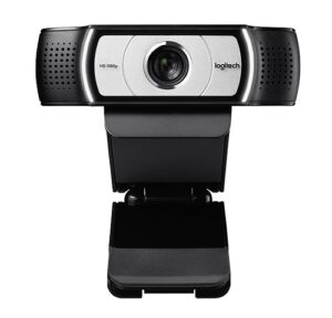 Logitech C930c Full HD 1080p Webcam-1920x1080,90 Degree Field,Privacy Shutter,Tripod Ready,Ideal for Skype,Teams,Zoom,NotebookPC - Chinese Version (LS