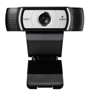 Logitech C930e Webcam 90 Degree view HD1080P - Pan, Tilt, Zoom Options, Ideal for Skype, Lync, Plug and Play USB, Rightlight Autofocus (~C920)