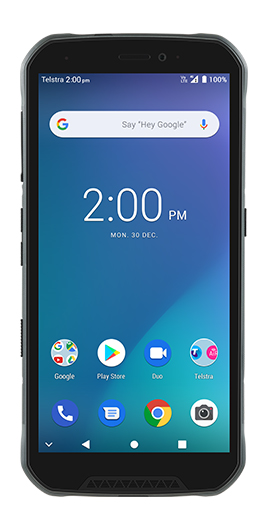 TELSTRA TOUGH MAX 3 (T86) BLUE -  IDEAL DEVICE FOR TRADIES - 5.65' Screen Size, Quad Core Processor, Dual Camera, 3920 mAh Battery
