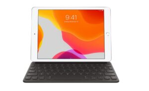 Apple Smart Keyboard for iPad 10.2 (8th generation) ? US English, Full-sized, Portable, Folds to create a slim, lightweight cover.