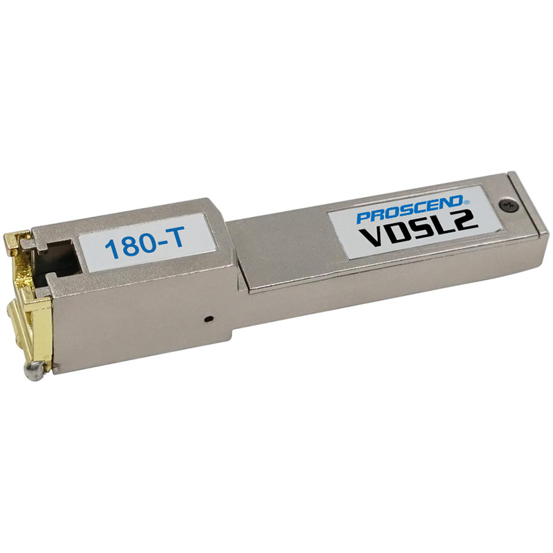 Proscend VDSL2 SFP Modem For Telco, Supports All VDSL2 Profiles, Suitable For -20?C to 75?C temperature range, Suitable For Ubiquiti, Mikrotik + More